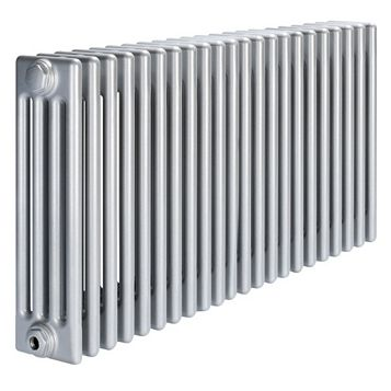 Acova 4 Column Radiator, Silver (W)1042 mm (H)600 mm