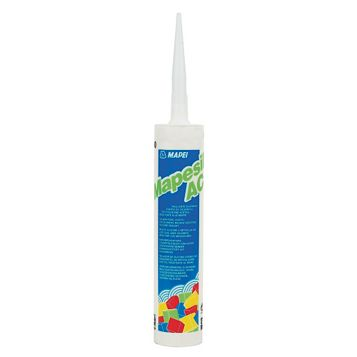Mapei Mid Grey Manhattan Solvent-Free Silicone Sealant Of 1