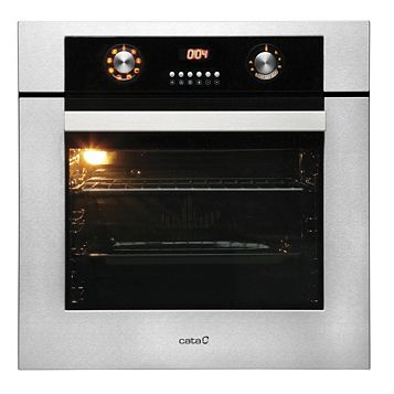 Cata EFGM60SS2 Black Electric Multifunction Single Oven