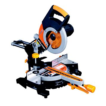 Evolution Rage 2000W 255mm Sliding Compound Mitre Saw RAGE3FP2552