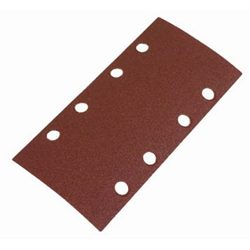 Flexovit (L) 185mm 120 Grit Sanding Sheet Pack of 6