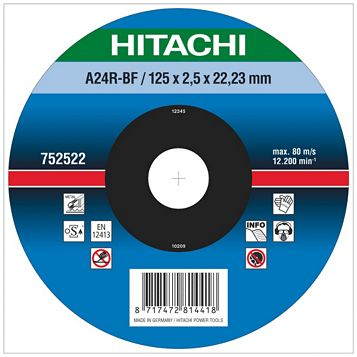 Hitachi (Dia)230mm Continuous Depressed Centre Abrasive Disc