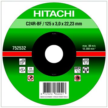 Hitachi (Dia)230mm Continuous Flat Abrasive Disc