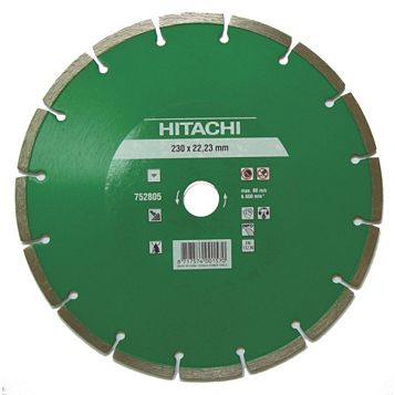 Hitachi (Dia)115mm Segmented Diamond Cutting & Grinding Blade