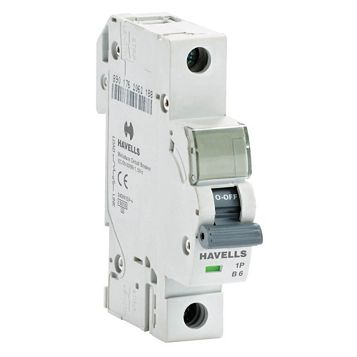 Havells 6A MCB (Miniature Circuit Breaker)