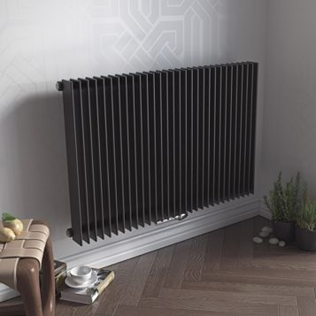 Ximax Atlas Vertical Radiator Anthracite, (H)600 mm (W)1190mm