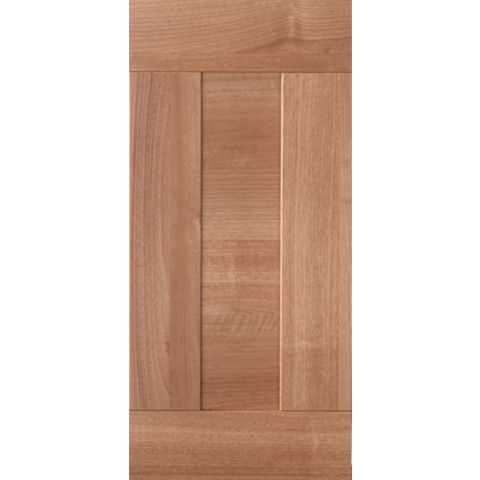 IT Kitchens Westleigh Walnut Effect Shaker Bridging Door (W)600mm