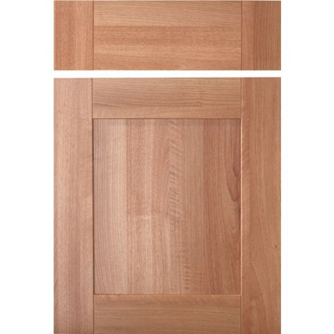 IT Kitchens Westleigh Walnut Effect Shaker Drawerline Door & Drawer Front (W)500mm, Set of 1 Door & 1 Drawer Pack