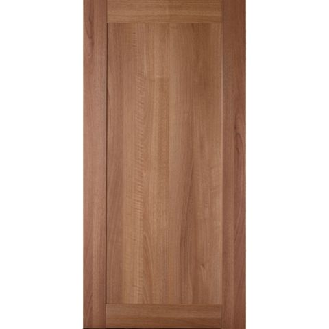 IT Kitchens Westleigh Walnut Effect Shaker Fridge Freezer Door (W)600mm