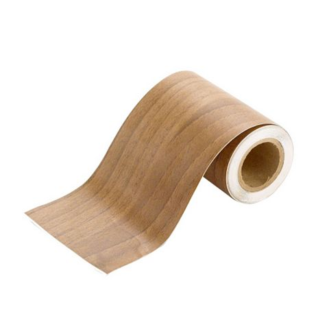Natural Walnut Effect Fascia Strip (W)50mm (L)1.8m