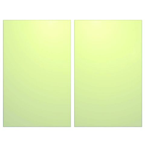 IT Kitchens Santini Gloss Cream Slab Larder Door (W)600mm, Set of 2