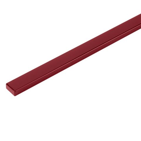 Cooke & Lewis Raffello High Gloss Red Slab Oven Housing Filler Panel (W)600mm