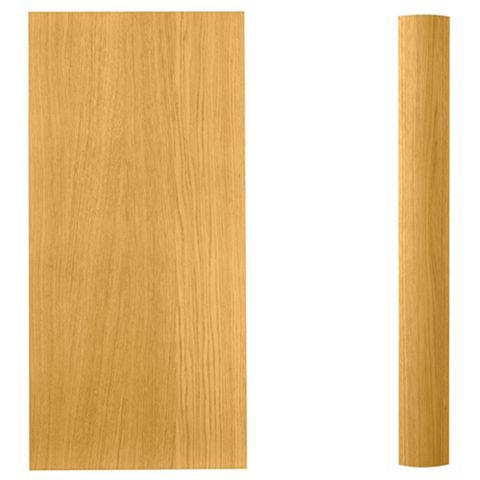 Cooke & Lewis Curved Wall Pilaster Kit Clevedon (H)757mm (W)70mm (D)355mm