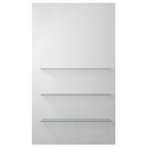 Cooke & Lewis Smooth White Shelving (H)850mm (W)500mm