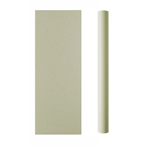 Cooke & Lewis Curved Base Pilaster Kit Carisbrooke Taupe (H)900mm (W)590mm (D)70mm