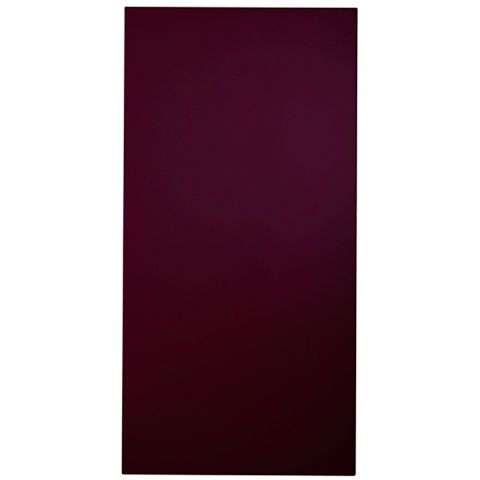 Cooke & Lewis Raffello High Gloss Aubergine Slab Tall Standard Door (W)400mm