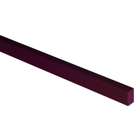 Cooke & Lewis Raffello High Gloss Aubergine Slab Oven Housing Filler Panel (W)600mm