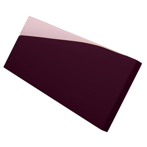 Cooke & Lewis Filler Post High Gloss Aubergine (H)715mm (W)33.5mm