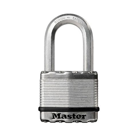 Master Lock Excell Steel 4-Pin Tumbler Cylinder Padlock (W)50mm