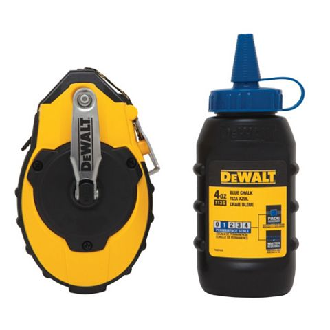 DeWalt Chalk Line Reel Set (L)226mm 449G