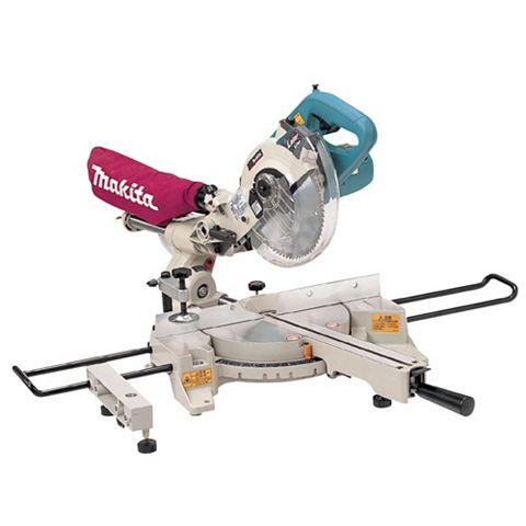 Makita 190mm Double Bevel Sliding Compound Mitre Saw LS0714/1