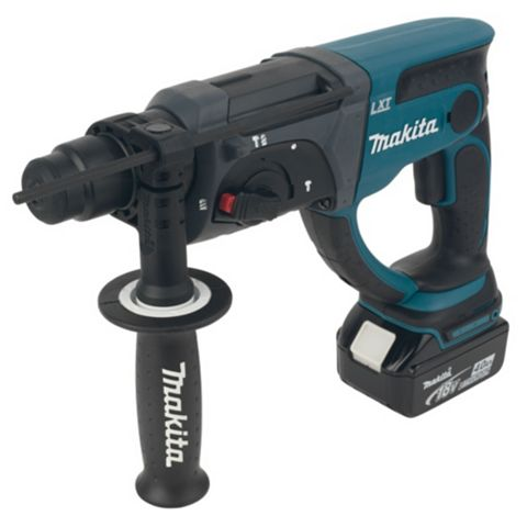 Makita LXT Cordless 18V 4Ah Li-Ion SDS Plus Drill 2 Batteries DHR202RMJ