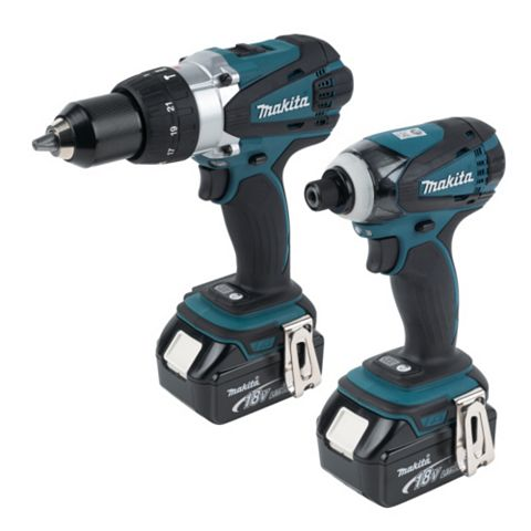 Makita Li-Ion Power Tool Kit Batteries Included DLX2005M