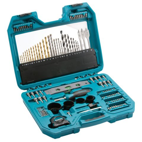Makita 120 Piece Mixed Accessory Set Set