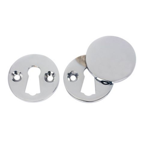 Polished Chrome Escutcheon Set