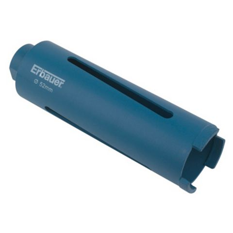 Erbauer Blue Diamond Core Drill Bit (Dia)52mm