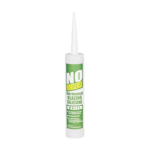 No Nonsense Sealing & Filling Gaps & Cracks Glazing & Frame Sealant White, 310ml