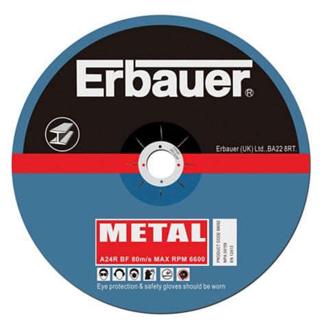 Erbauer (Dia)125mm Continuous Cutting Discs, Pack of 5