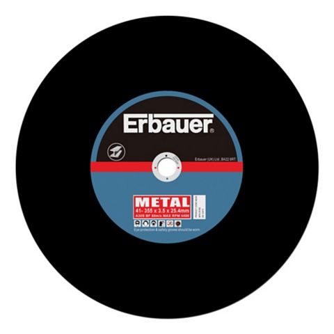 Erbauer (Dia)355mm Continuous Cutting Discs, Pack of 2
