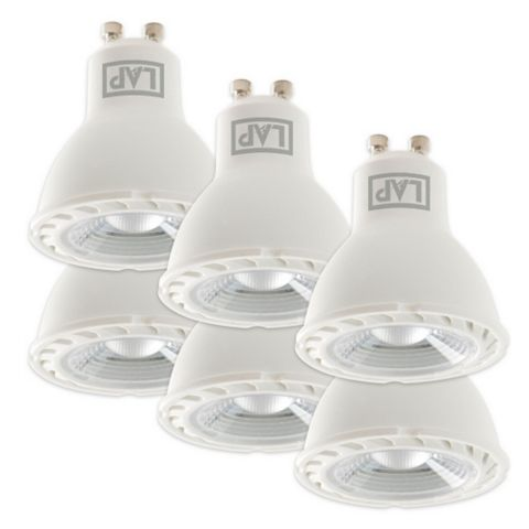 Lap GU10 4.2W LED Reflector Spot Lamp, Pack of 6
