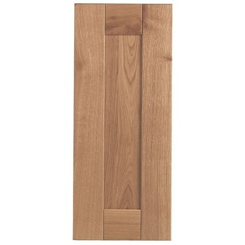 Cooke & Lewis Chesterton Solid Oak Standard Door (W)300mm