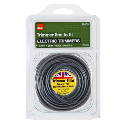Trimmer Line to Fit Electric Trimmers (T)1.5mm