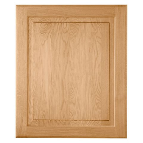 Cooke & Lewis Chesterton Solid Oak Classic Integrated Appliance Door (W)600mm