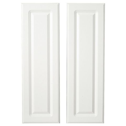 IT Kitchens Chilton Gloss White Style Larder Door (W)300mm, Set of 2