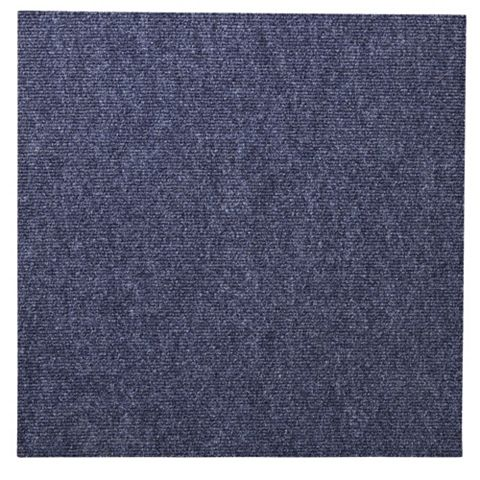 Blue Carpet Tile, Pack of 10