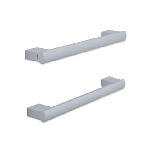 IT Kitchens Aluminium Effect Bar Cabinet Handle, Pack of 2