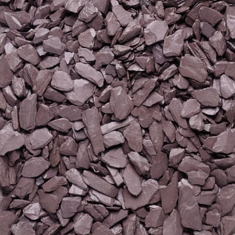 Blooma Decorative Slate Chippings, 22.5 kg Maxi Bag