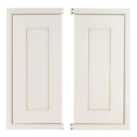 Cooke & Lewis Woburn Framed Corner Base Door (W)925mm, Set of 2