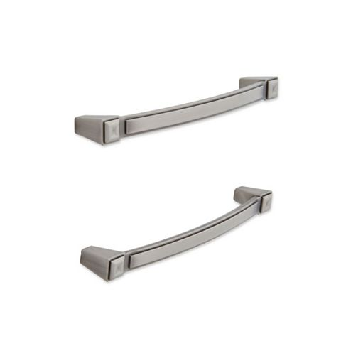 IT Kitchens Antique Pewter Effect Curved Cabinet Handle, Pack of 2
