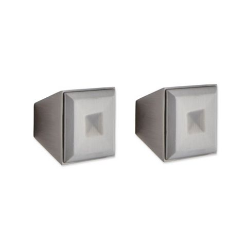 IT Kitchens Antique Pewter Effect Square Cabinet Knob, Pack of 1