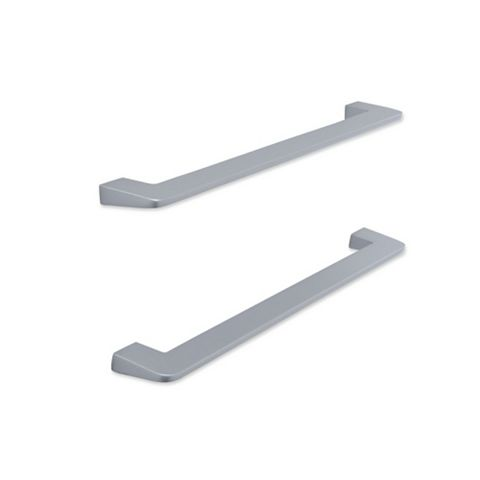 IT Kitchens Brushed Nickel Effect D-Shaped Cabinet Handle, Pack of 2