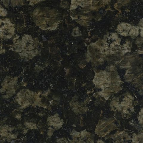 1.5mm Speedstone Verde Magic Granite Kitchen Worktop End Cap (L)0.95m