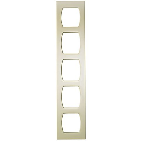 Cooke & Lewis Cream Contemporary Wine Rack Frame, 150 x 720mm