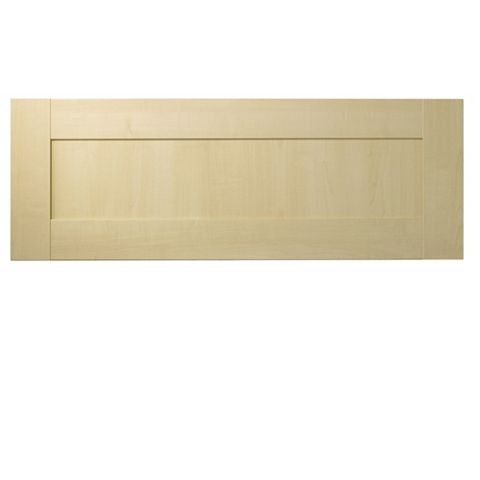 IT Kitchens Contemporary Maple Style Bridging Door & Pan Drawer Front (W)1000mm