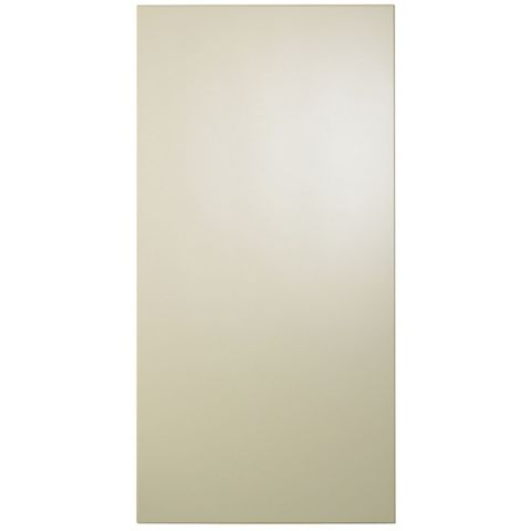 Cooke & Lewis Raffello High Gloss Cream Slab Tall Standard Door (W)450mm