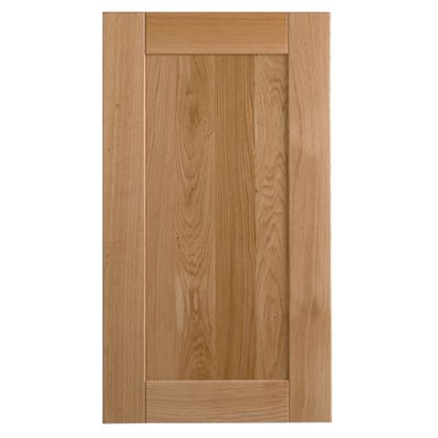 Cooke & Lewis Chesterton Solid Oak Tall Standard Door (W)500mm